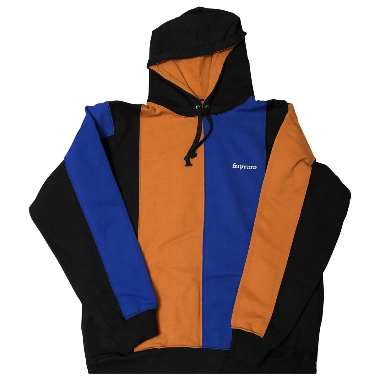 Supreme \N Pullover.Westen.Sweatshirts  in  Bunt Baumwolle