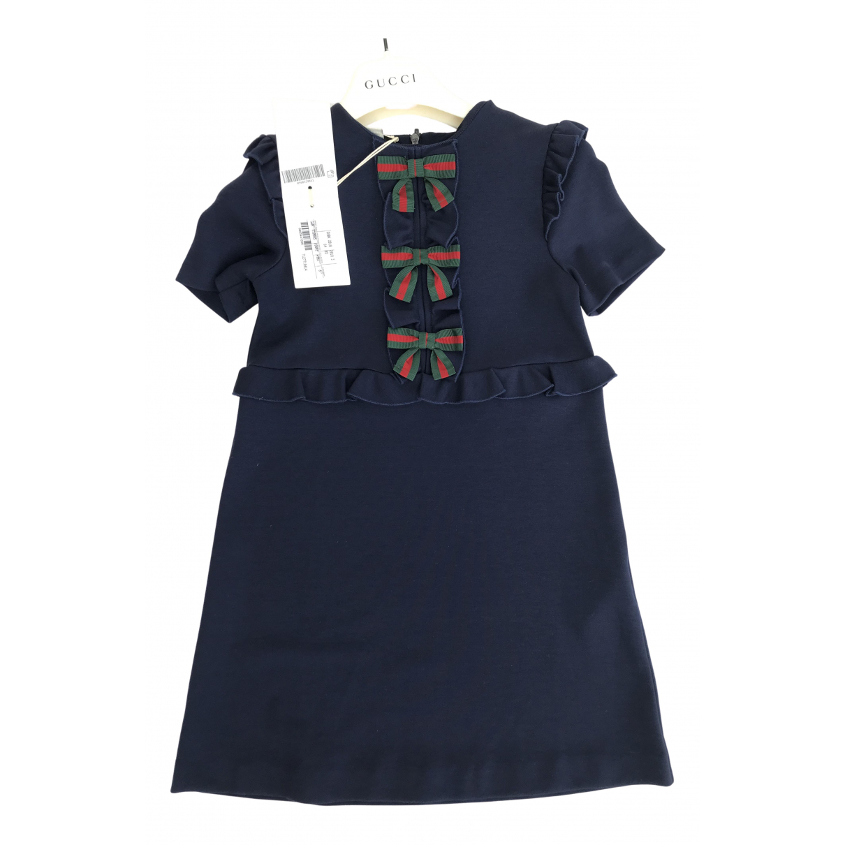 Gucci \N Kleid in  Blau Viskose
