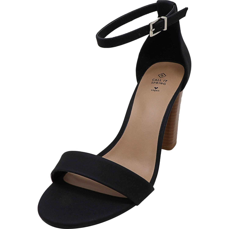 Call It Spring Women's Yenalla Black Ankle-High Heel - 7.5M