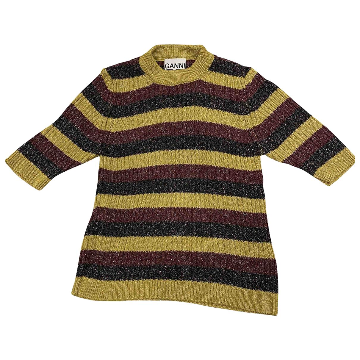 Ganni \N Yellow Knitwear for Women S International