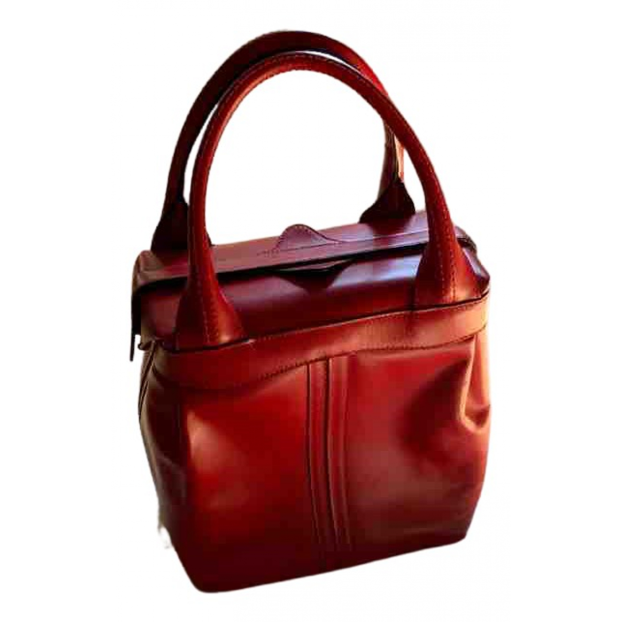 Valextra \N Red Leather handbag for Women \N