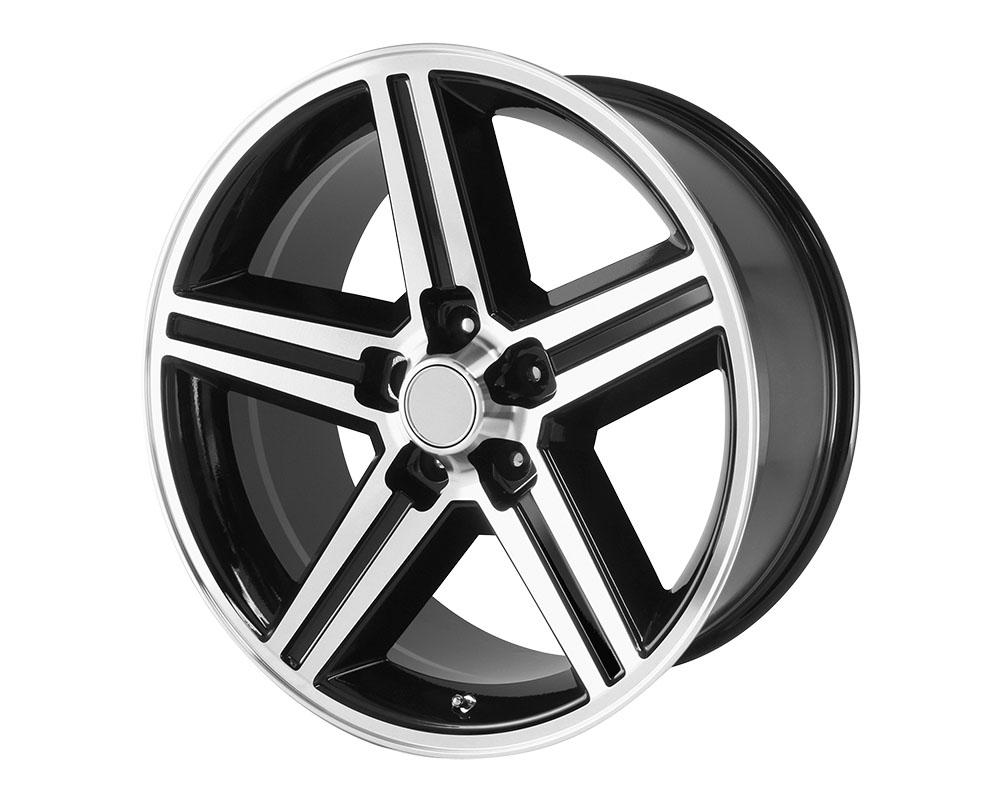OE Creations 148B-78610 PR148 Wheel 17x8 5x5x120.65 +0mm Gloss Black Machined