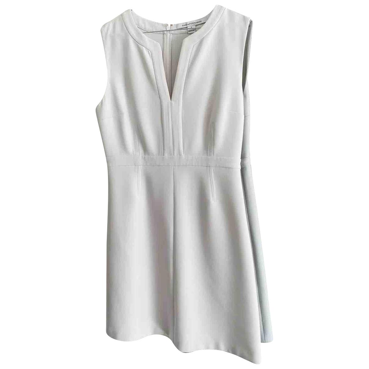 Diane Von Furstenberg \N White dress for Women 6 US