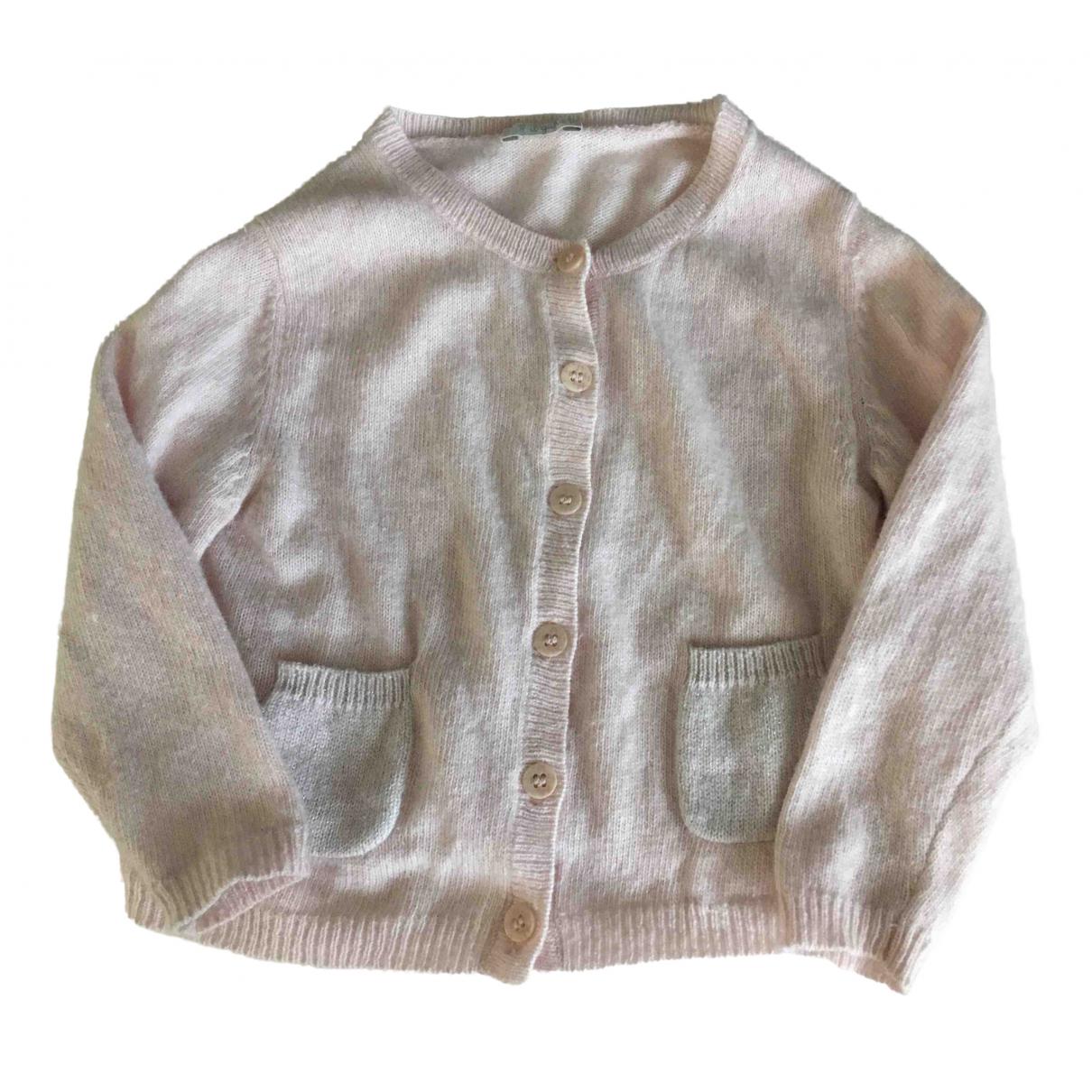 Il Gufo - Pull   pour enfant en laine - rose