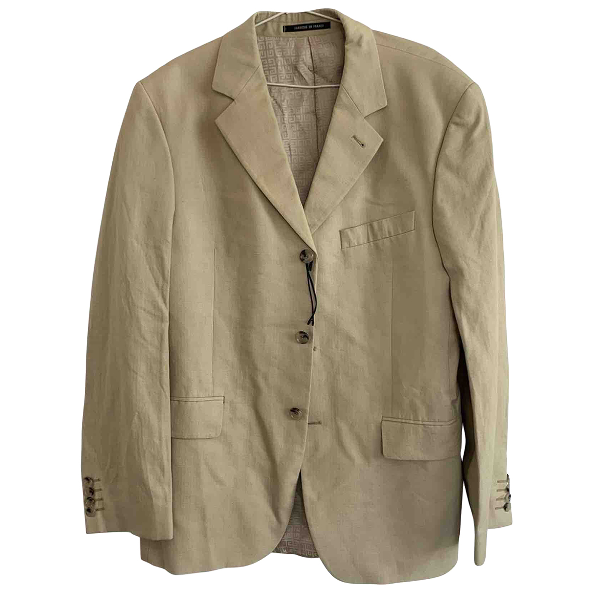 Givenchy N Beige Cotton jacket  for Men XXL International