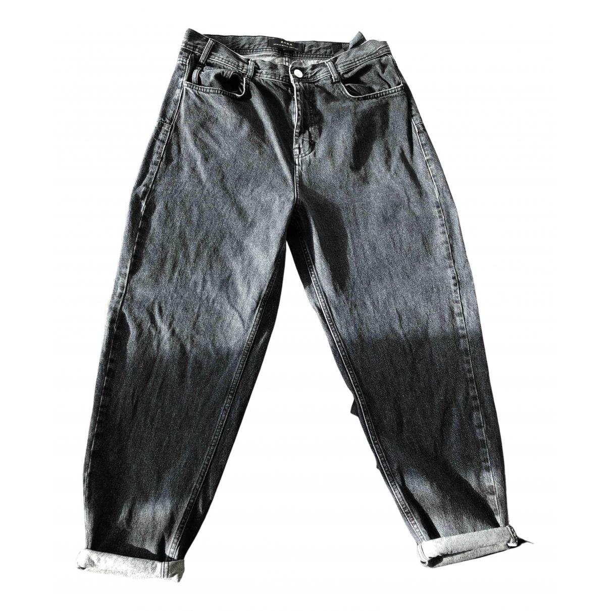 Zara N Grey Cotton Jeans for Men 32 US
