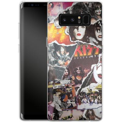 Samsung Galaxy Note 8 Silikon Handyhuelle - KISS Collage von KISS®