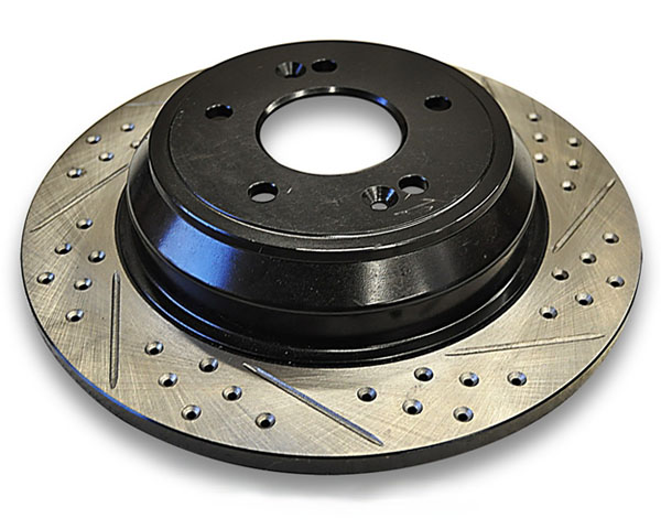 ARK BR0700-103R Drilled & Slotted Rear Rotors Hyundai Genesis Coupe w/Brembo Brakes 10-12
