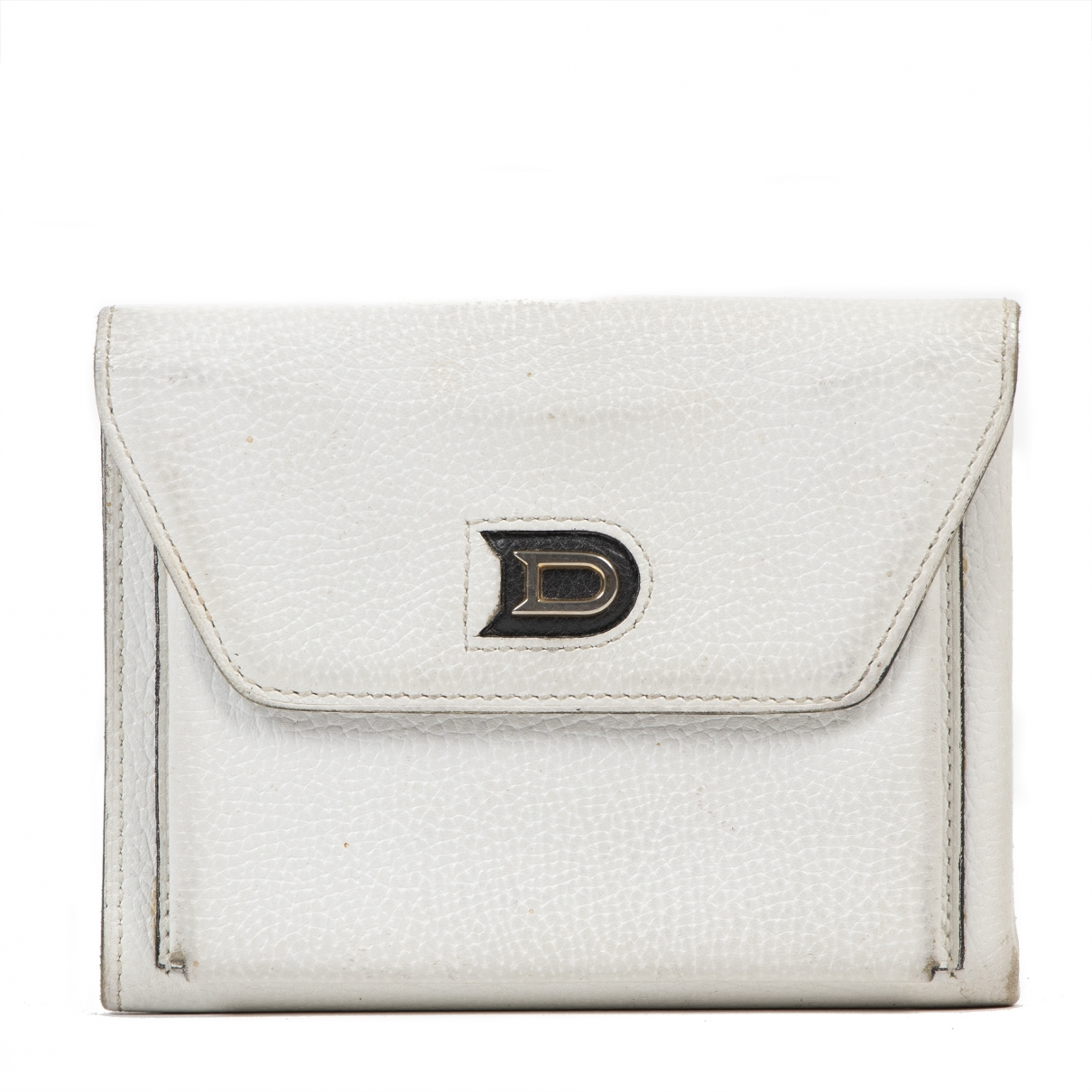 Delvaux \N Ecru Leather wallet for Women \N
