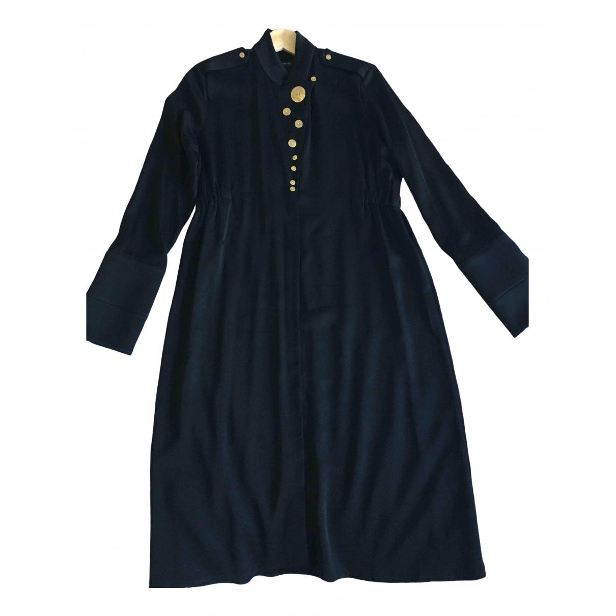 Ellery \N Kleid in  Schwarz Synthetik
