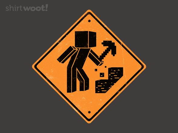 Construction Zone T Shirt