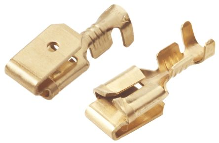 TE Connectivity Female Crimp Terminal Contact 14AWG 638652-1 (100)