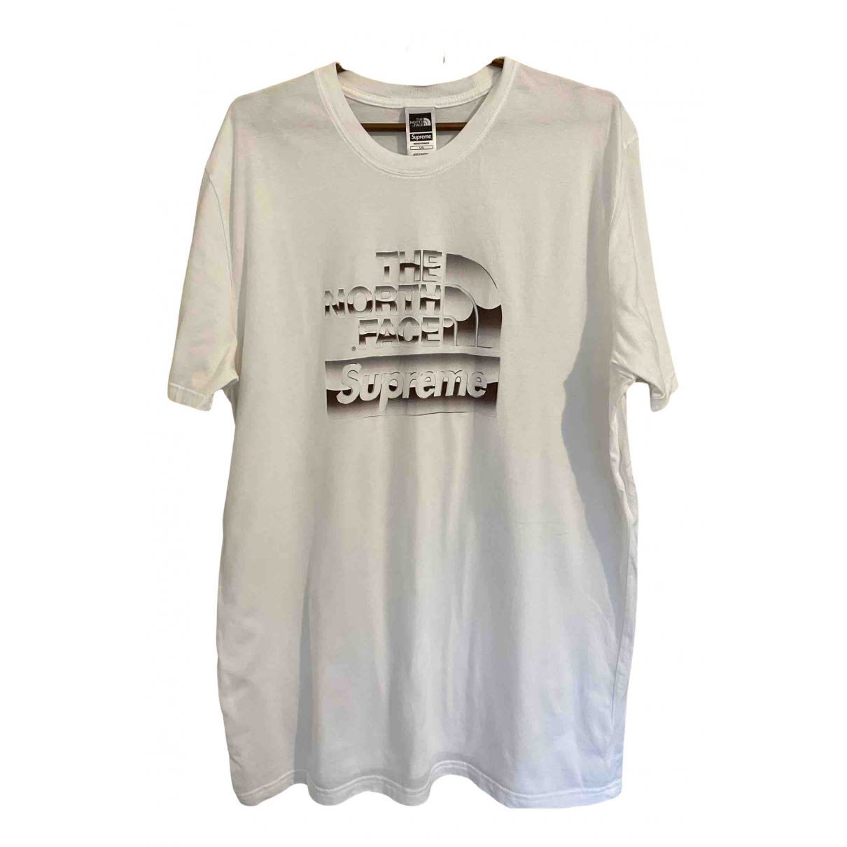 Supreme X The North Face N White Cotton T-shirts for Men L International