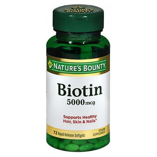 Nature's Bounty Biotin 24 X 72 Softgels by Nature's Bounty