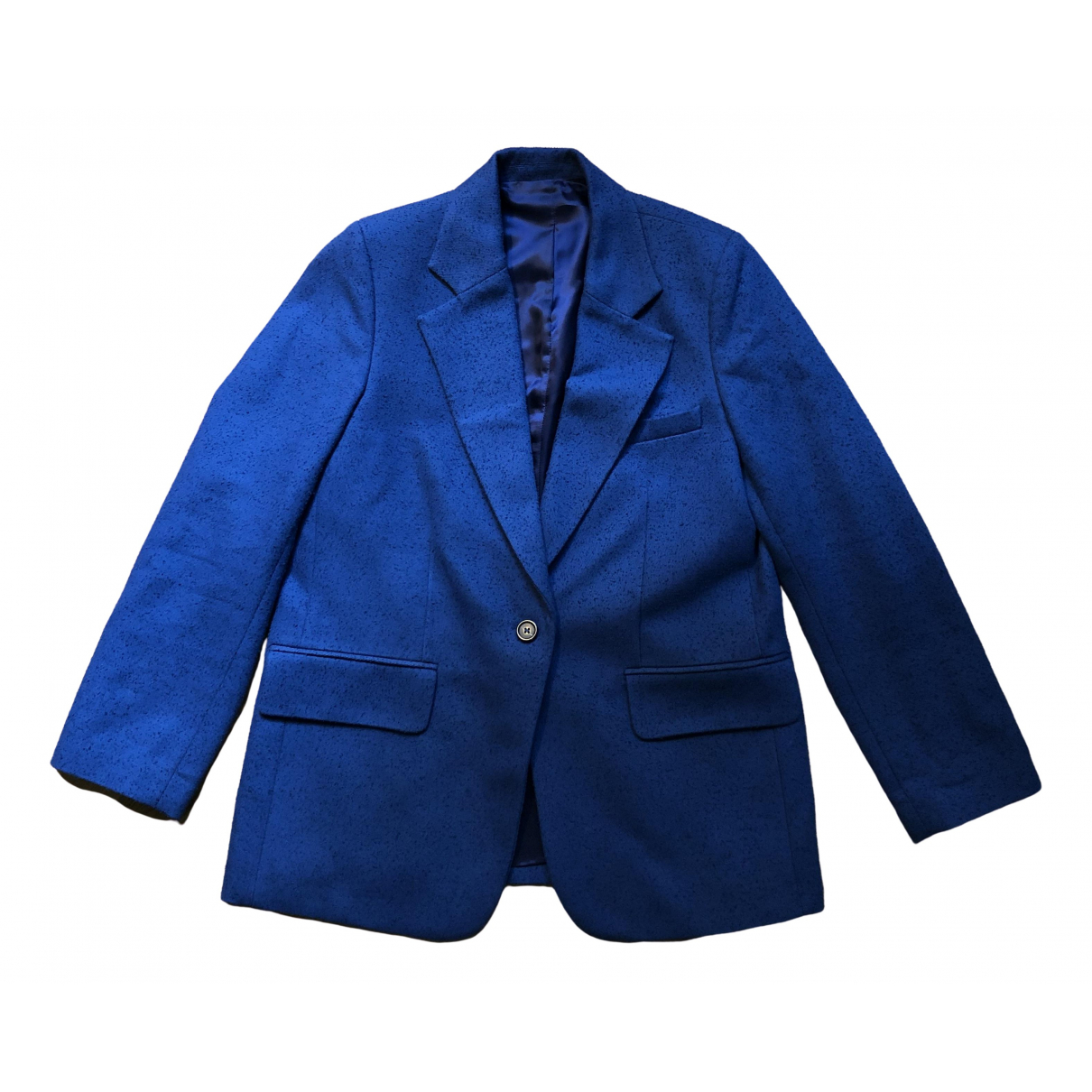 Arket - Veste   pour femme en coton - bleu