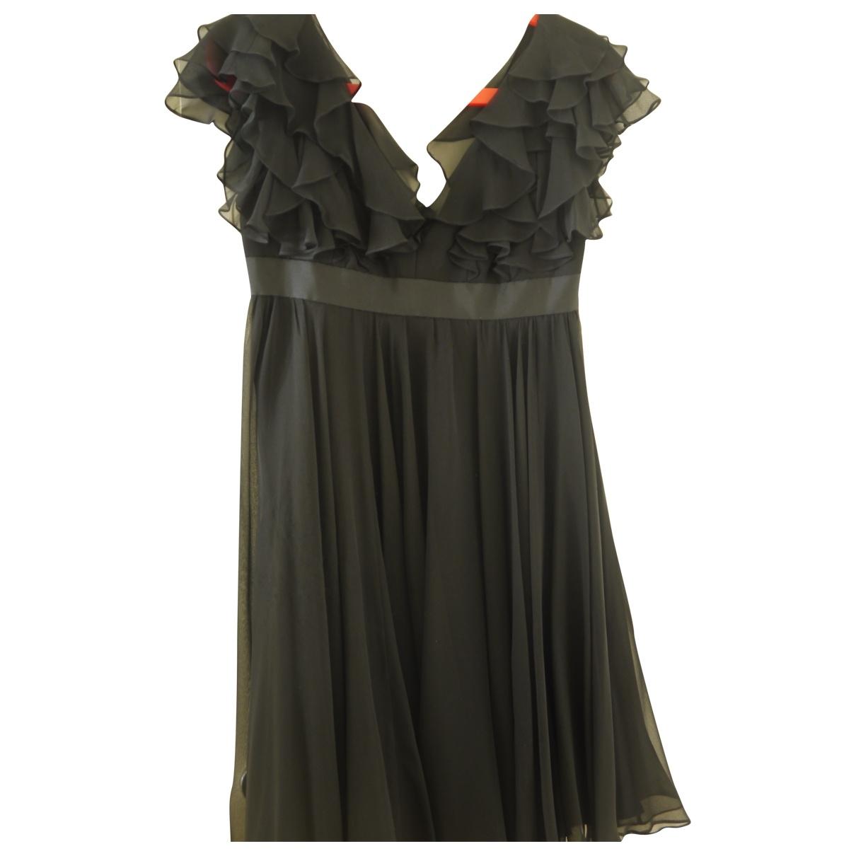 Marchesa Notte \N Black Silk dress for Women 4 UK