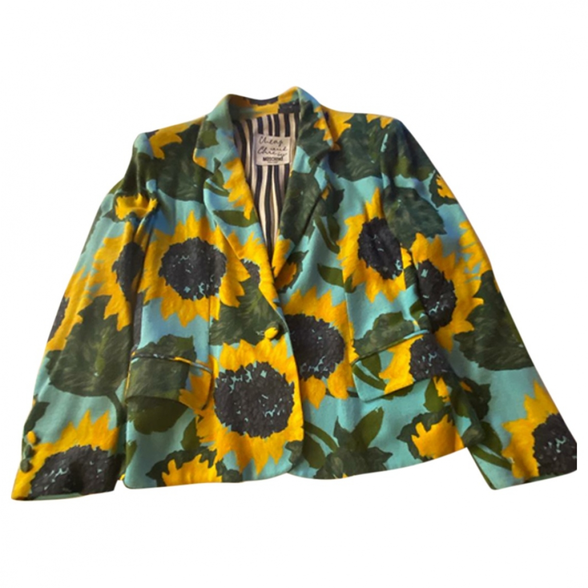 Moschino Cheap And Chic - Veste   pour femme - vert