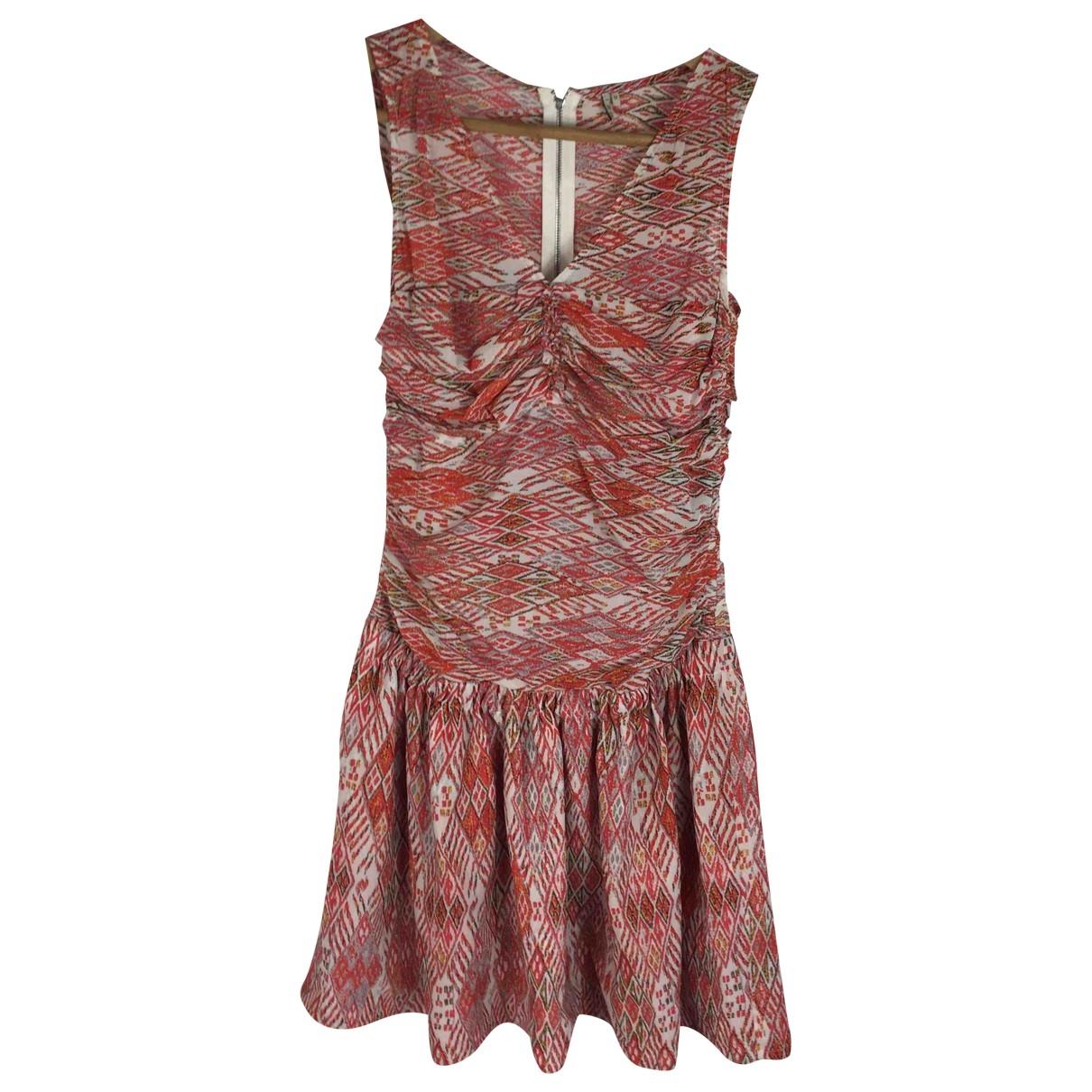 Iro - Robe   pour femme en soie - rouge