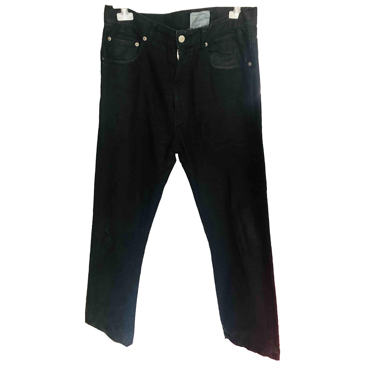 Comme Des Garcons \N Black Cotton Jeans for Men 34 US
