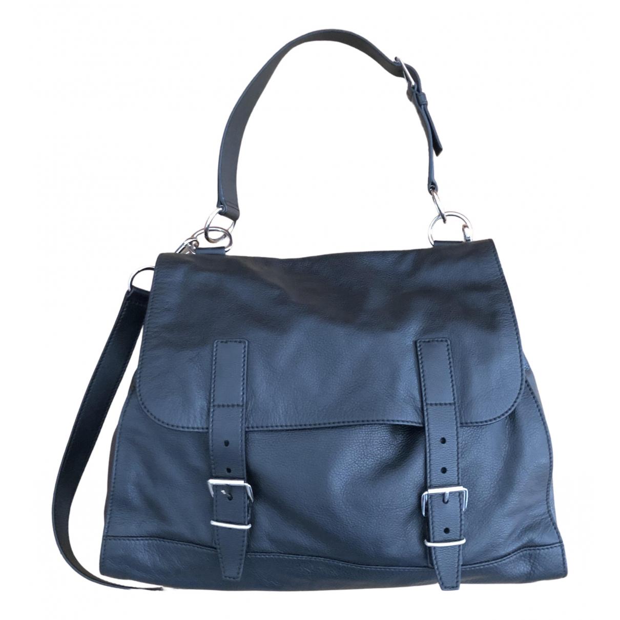 Yves Saint Laurent N Black Leather bag for Men N