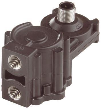 Jumo Pressure Sensor for Fluid, Gas , 4bar Max Pressure Reading