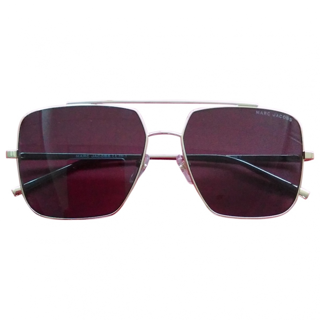 Marc By Marc Jacobs \N Camel Metal Sunglasses for Women \N