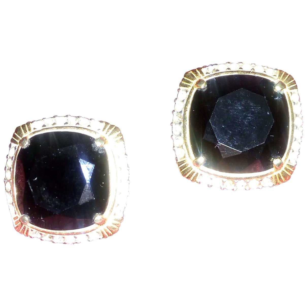 Nina Ricci \N Black Metal Earrings for Women \N