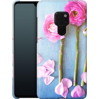 Huawei Mate 20 Smartphone Huelle - Cottage Flowers von Joy StClaire