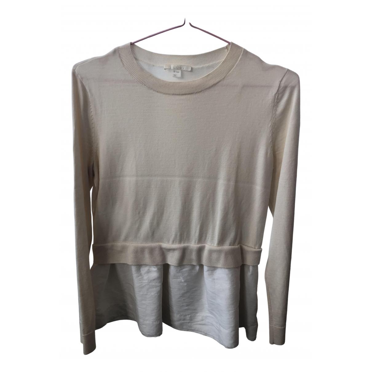 Cos - Top   pour femme en laine - beige