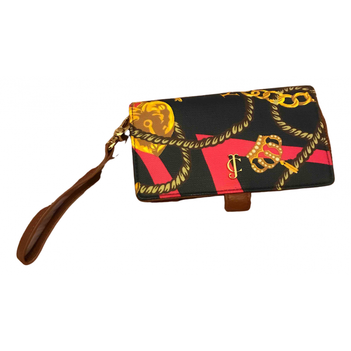 Juicy Couture - Petite maroquinerie   pour femme en cuir - multicolore