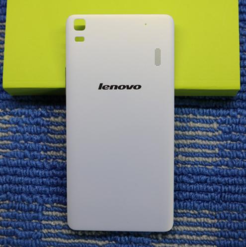 High Quality Hand Case Back Shell for Lenovo lemon K3 NOTE - White