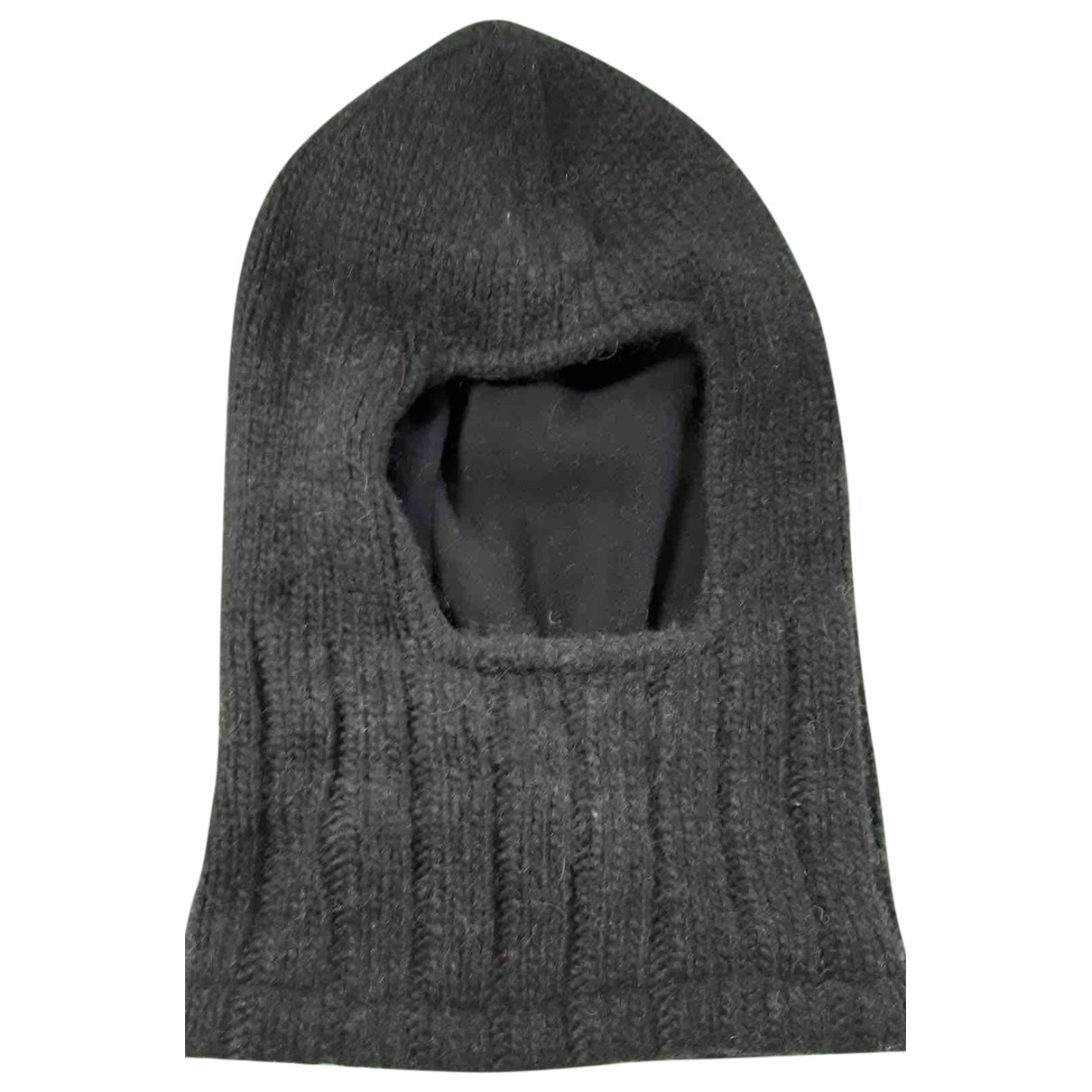Emporio Armani N Black Wool hat & pull on hat for Men M International