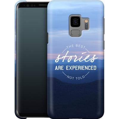 Samsung Galaxy S9 Smartphone Huelle - Stories von Statements