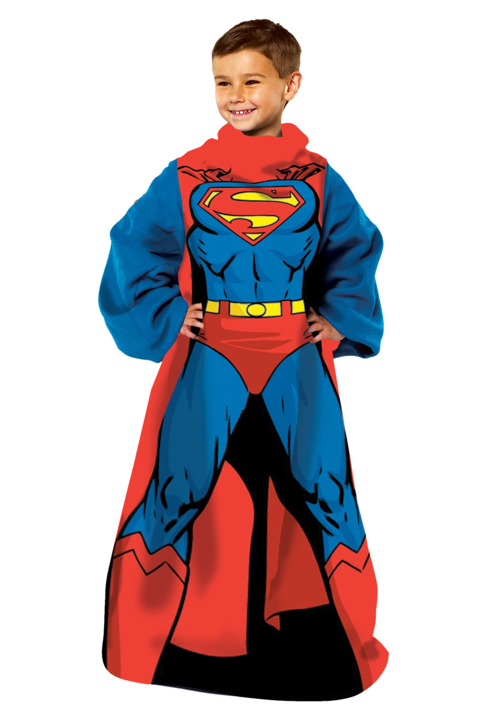 Being Superman Comfy Throw for Kids