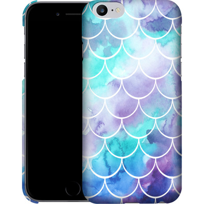 Apple iPhone 6s Plus Smartphone Huelle - Purple Mermaid Scales von Becky Starsmore