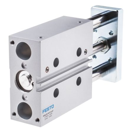 Festo Guide Cylinder 20mm Bore, 50mm Stroke, DFM Series, Double Acting