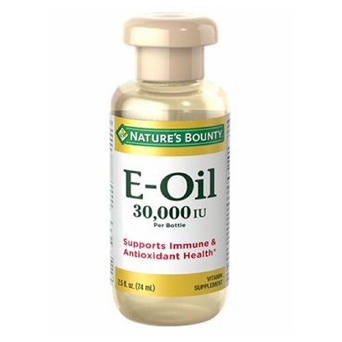 Vitamin E Oil 12 X 2.5 Oz by Nature's Bounty