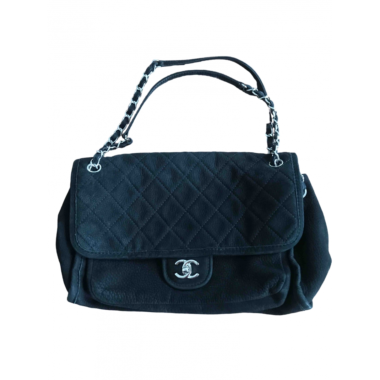 Chanel Timeless/Classique Black Suede handbag for Women \N