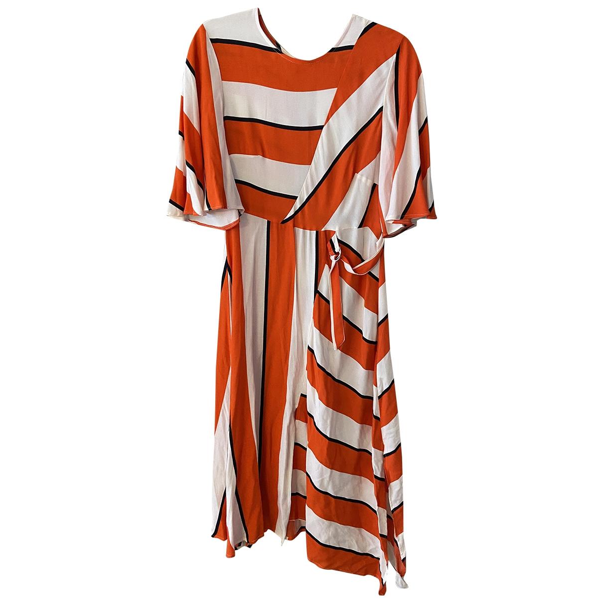 tophop \N Orange dress for Women 12 UK