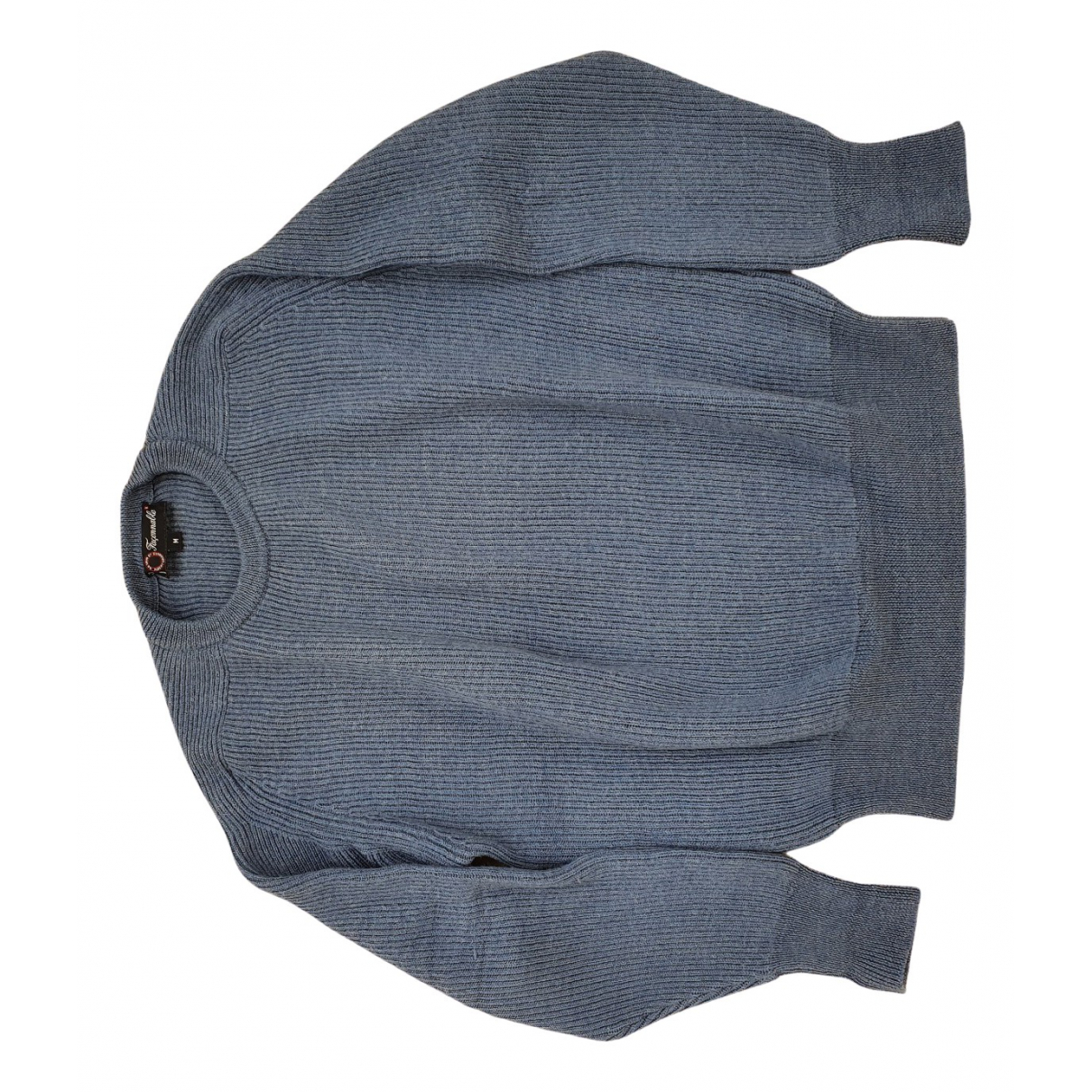 Faconnable \N Pullover.Westen.Sweatshirts  in  Blau Wolle