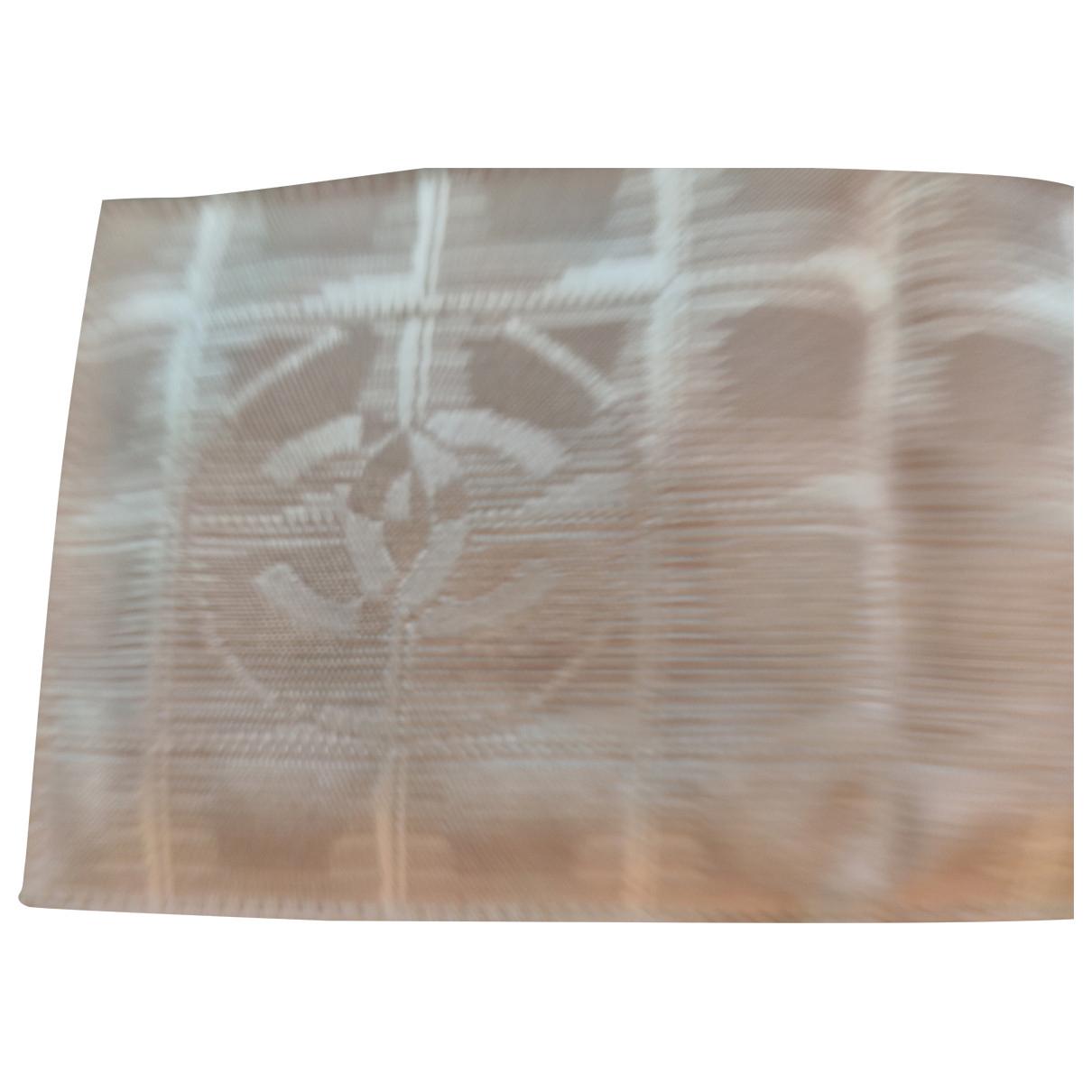 Chanel N Beige Cloth wallet for Women N