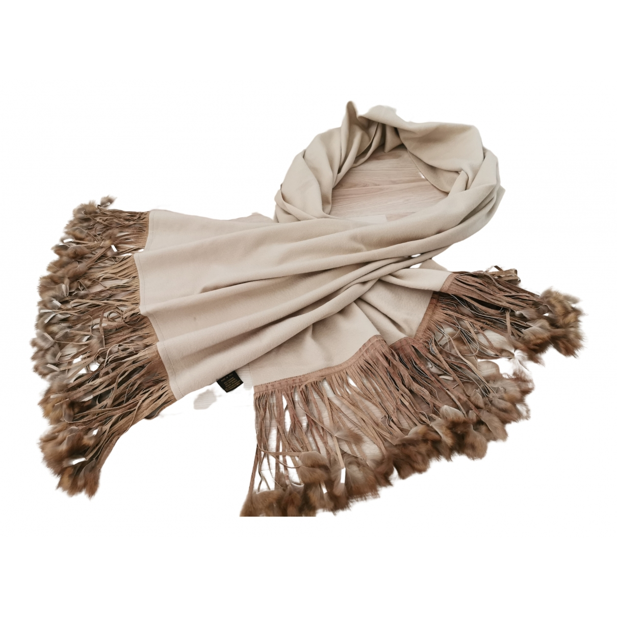 Loro Piana \N Beige Cashmere scarf for Women \N