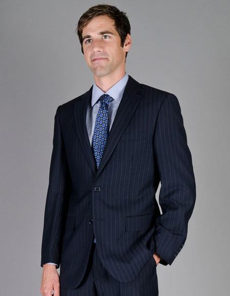 Men's Shadow Stripe Single Breasted Giorgio Fiorelli Brand suits