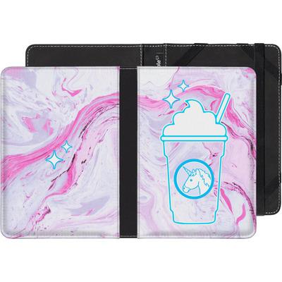 Sony Reader PRS-T2 eBook Reader Huelle - Unicorn Frappuccino von caseable Designs