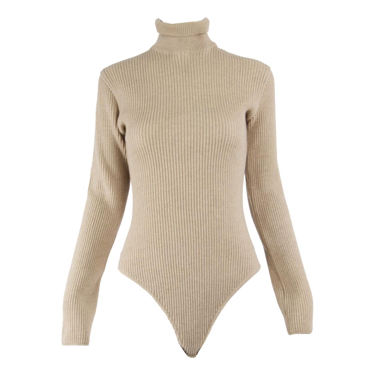 Genny N Beige Cashmere jumpsuit for Women M International