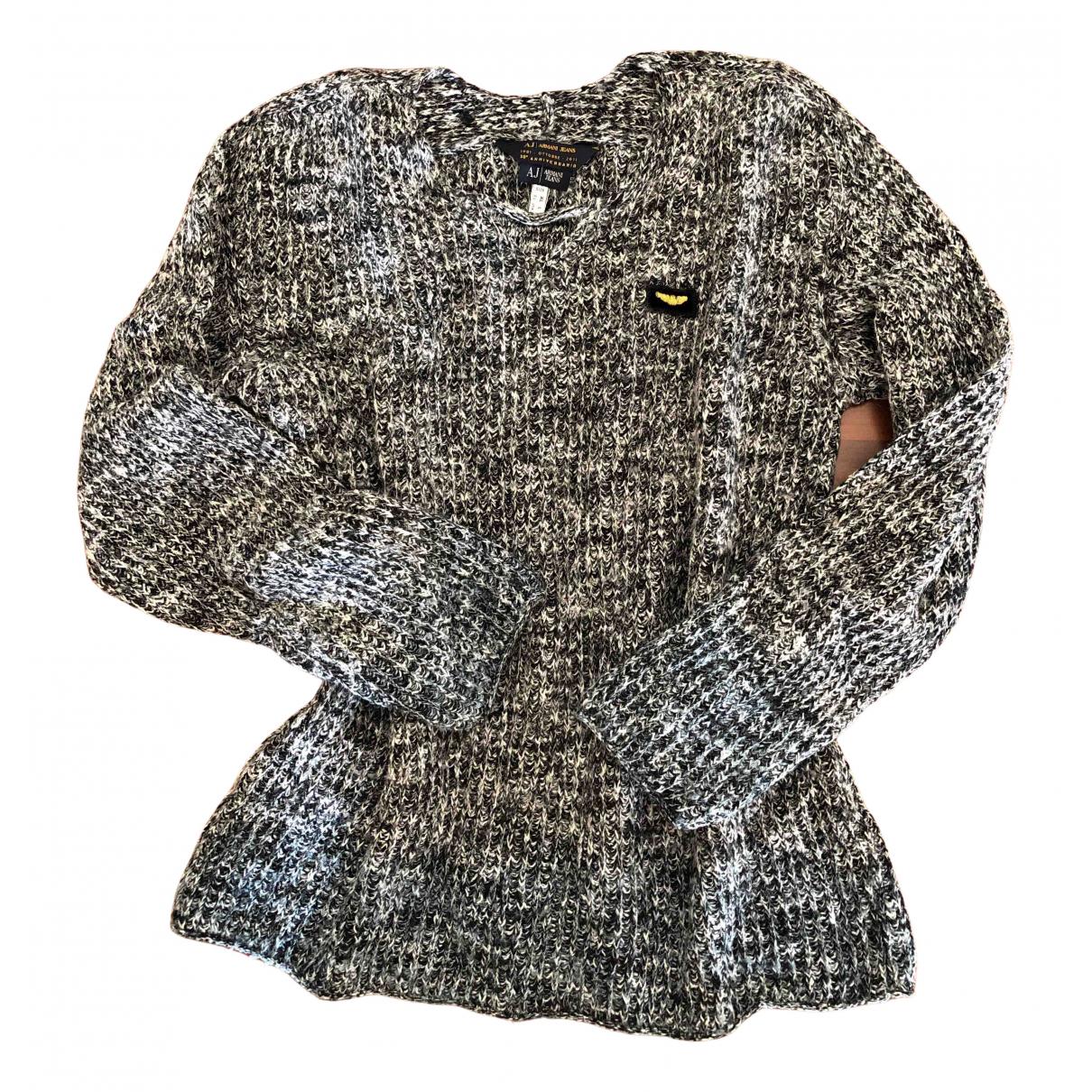 Armani Jean - Pulls.Gilets.Sweats   pour homme en laine - gris