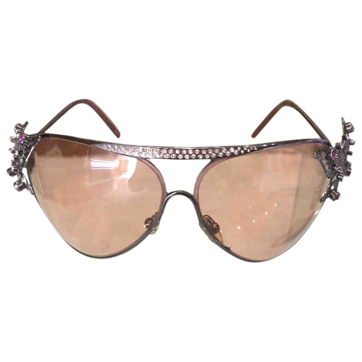 Valentino Garavani \N Sonnenbrillen in  Metallic Metall