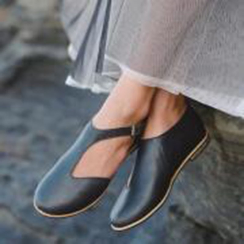 Ericdress Flat With Round Toe Heel Covering Casual Sandals