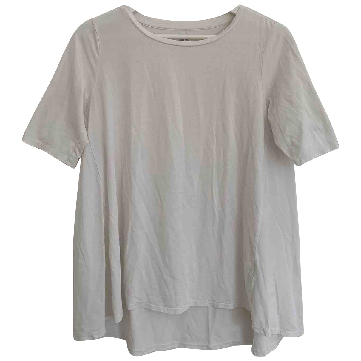 Uniqlo \N White Cotton  top for Women S International