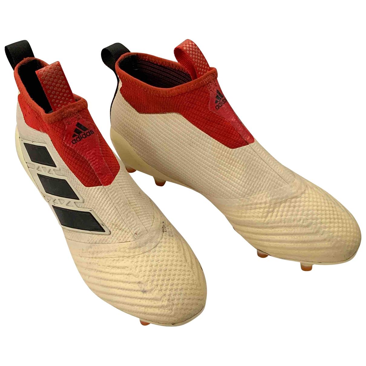 Adidas \N Schnuerschuhe in  Weiss Polyester